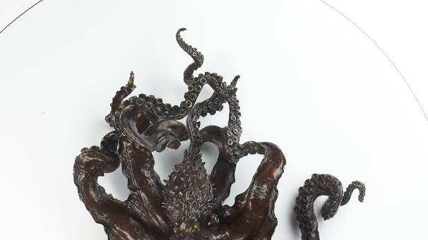 Octopus Coffee Table Kirk Mcguire Bronze Sculpture